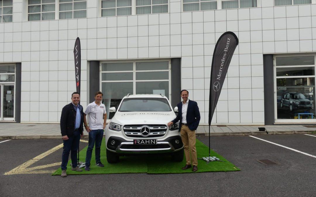 La Intersport Faro a Faro contará con el apoyo de Rahn Mercedes-Benz Tenerife